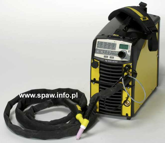 CaddyTig 2200i W panel TA 34 z uchwytem tig 4metry